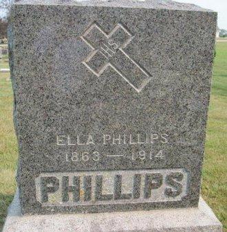 PHILLIPS, ELLA - Chickasaw County, Iowa | ELLA PHILLIPS