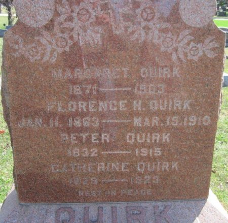 QUIRK, CATHERINE - Chickasaw County, Iowa | CATHERINE QUIRK