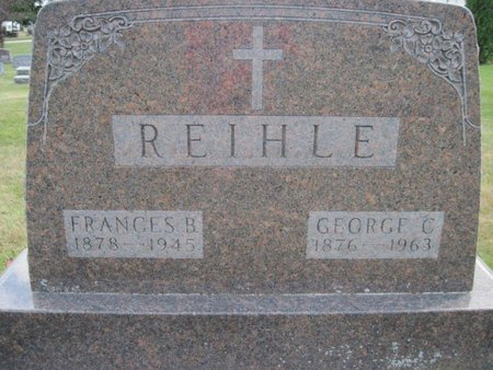 REIHLE, GEORGE C. - Chickasaw County, Iowa | GEORGE C. REIHLE