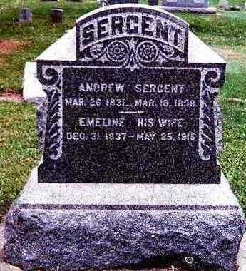 SERGENT, ANDREW AND EMELINE - Chickasaw County, Iowa | ANDREW AND EMELINE SERGENT