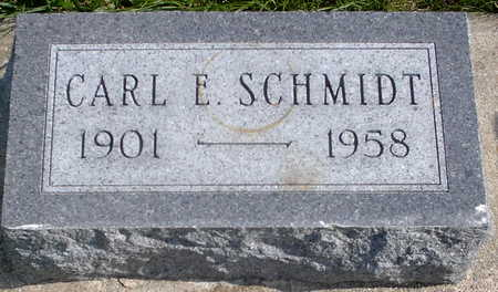 SCHMIDT, CARL E. - Chickasaw County, Iowa | CARL E. SCHMIDT