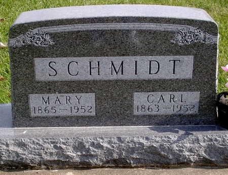 SCHMIDT, MARY - Chickasaw County, Iowa | MARY SCHMIDT
