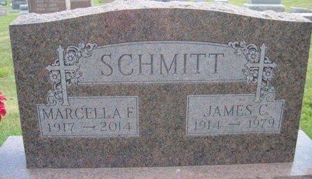 SCHMITT, MARCELLA F. - Chickasaw County, Iowa | MARCELLA F. SCHMITT