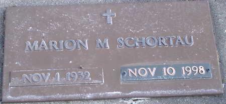 SCHORTAU, MARION M. - Chickasaw County, Iowa   MARION M. SCHORTAU