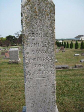 SCHULER, GEORGE - Chickasaw County, Iowa | GEORGE SCHULER