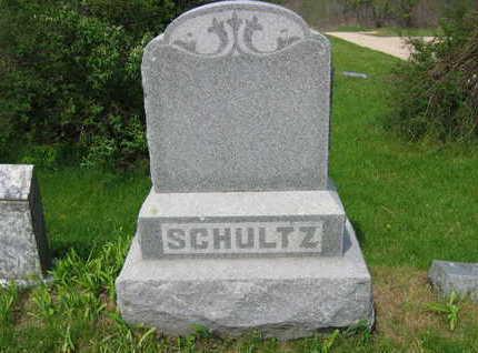 SCHULTZ, FAMILY MARKER - Chickasaw County, Iowa | FAMILY MARKER SCHULTZ