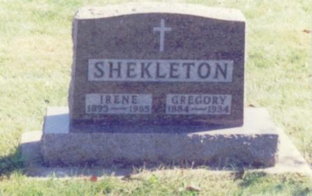 SHEKLETON, GREGORY - Chickasaw County, Iowa | GREGORY SHEKLETON