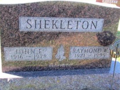SHEKLETON, JOHN E - Chickasaw County, Iowa | JOHN E SHEKLETON