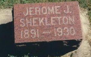 SHEKLETON, JEROME JAMES - Chickasaw County, Iowa | JEROME JAMES SHEKLETON
