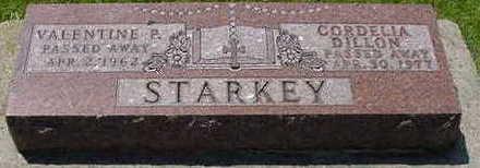 STARKEY, VALENTINE P. 'VAL' - Chickasaw County, Iowa | VALENTINE P. 'VAL' STARKEY