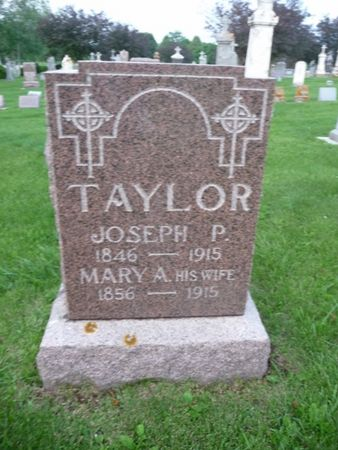 TAYLOR, MARY A - Chickasaw County, Iowa | MARY A TAYLOR