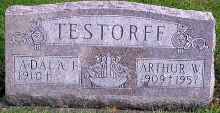 TESTORFF, ARTHUR W. - Chickasaw County, Iowa | ARTHUR W. TESTORFF