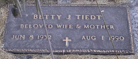 TIEDT, BETTY J. - Chickasaw County, Iowa | BETTY J. TIEDT