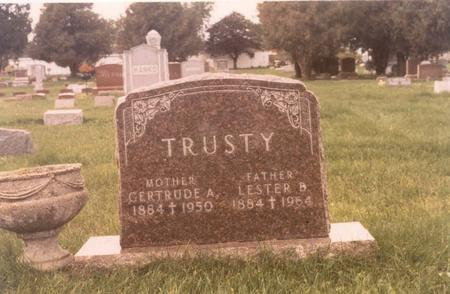 TRUSTY, GERTRUDE - Chickasaw County, Iowa | GERTRUDE TRUSTY