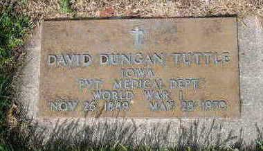 TUTTLE, DAVID DUNGAN - Chickasaw County, Iowa | DAVID DUNGAN TUTTLE