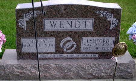 WENDT, LYNFORD - Chickasaw County, Iowa | LYNFORD WENDT