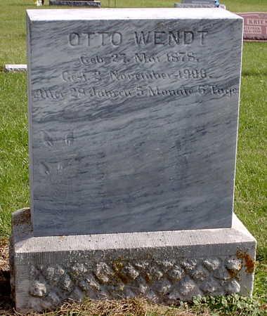 WENDT, OTTO - Chickasaw County, Iowa | OTTO WENDT