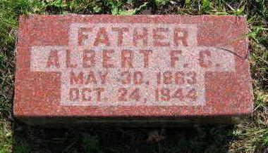 WOLFF, ALBERT FRIEDRICH CHRISTOPHER - Chickasaw County, Iowa | ALBERT FRIEDRICH CHRISTOPHER WOLFF