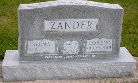 ZANDER, LORENZ - Chickasaw County, Iowa | LORENZ ZANDER