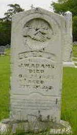ADAMS, ELIZA J. - Clarke County, Iowa   ELIZA J. ADAMS