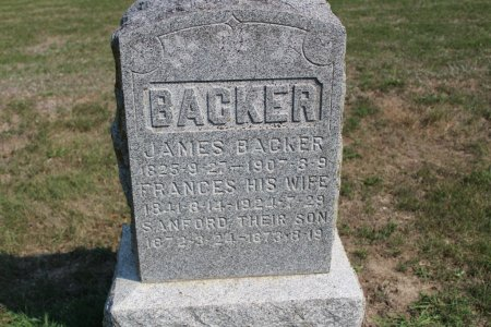 BACKER, JAMES - Clarke County, Iowa | JAMES BACKER