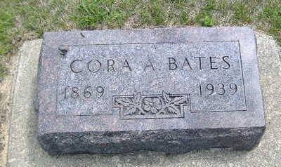 BATES, CORA A. - Clarke County, Iowa | CORA A. BATES