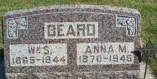 BEARD, ANNA M. - Clarke County, Iowa | ANNA M. BEARD