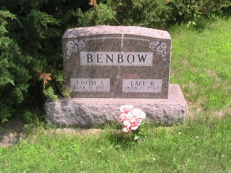 BENBOW, EDITH E - Clarke County, Iowa | EDITH E BENBOW