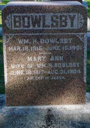 BOWLSBY, MARY ANN - Clarke County, Iowa | MARY ANN BOWLSBY