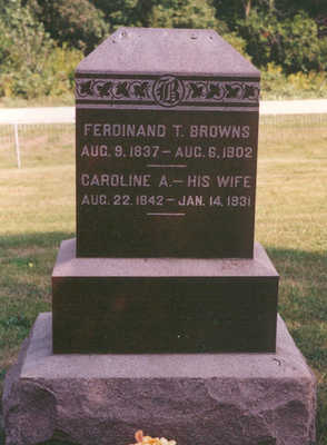 BROWNS, FERDINAND - Clarke County, Iowa | FERDINAND BROWNS