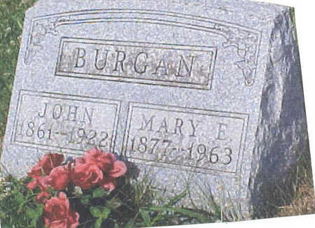 BURGAN, JOHN - Clarke County, Iowa | JOHN BURGAN
