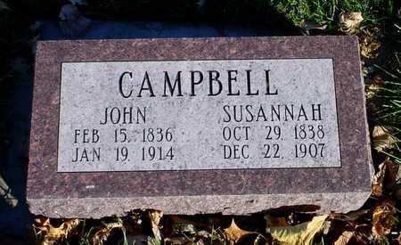 CAMPBELL, SUSANNAH - Clarke County, Iowa | SUSANNAH CAMPBELL