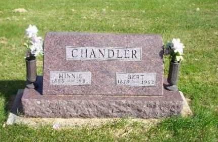 SCHAFFER CHANDLER, MINNIE - Clarke County, Iowa | MINNIE SCHAFFER CHANDLER
