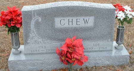 CHEW, INA - Clarke County, Iowa   INA CHEW