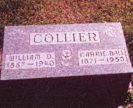 COLLIER, WILLIAM D. - Clarke County, Iowa | WILLIAM D. COLLIER