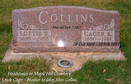 COLLINS, LOTTIE - Clarke County, Iowa   LOTTIE COLLINS