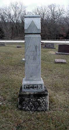 COOK, THOMAS Y. - Clarke County, Iowa | THOMAS Y. COOK