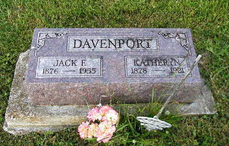 DAVENPORT, JACK - Clarke County, Iowa | JACK DAVENPORT