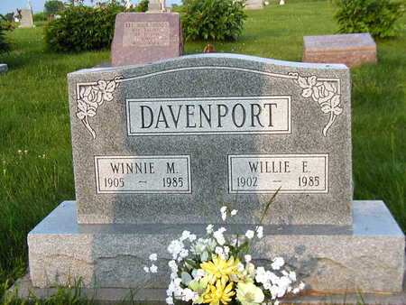 DAVENPORT, WILLIE - Clarke County, Iowa | WILLIE DAVENPORT