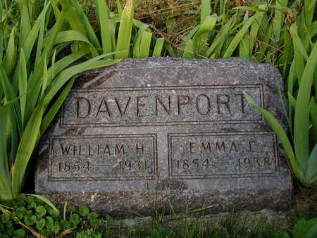 DAVENPORT, EMMA E - Clarke County, Iowa | EMMA E DAVENPORT