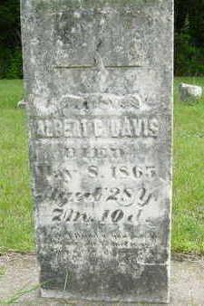 DAVIS, ALBERT G. - Clarke County, Iowa | ALBERT G. DAVIS