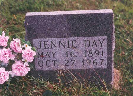 KAINE DAY, JENNIE - Clarke County, Iowa   JENNIE KAINE DAY