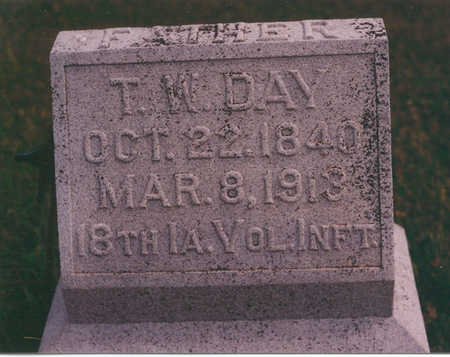 DAY, THOMAS - Clarke County, Iowa | THOMAS DAY
