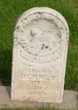 DENNEY, BERTHA - Clarke County, Iowa   BERTHA DENNEY