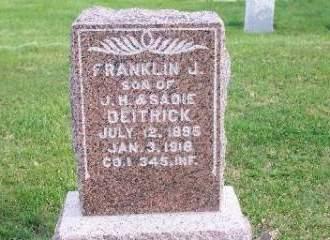 DIETRICK, FRANKLIN - Clarke County, Iowa | FRANKLIN DIETRICK