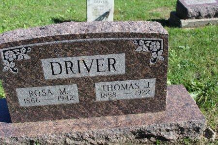 DRIVER, ROSA M - Clarke County, Iowa | ROSA M DRIVER