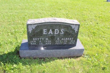 EADS, E ALBERT - Clarke County, Iowa | E ALBERT EADS