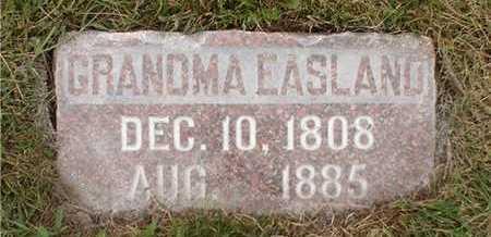 EASLAND, GRANDMA - Clarke County, Iowa   GRANDMA EASLAND