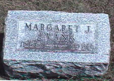 EVANS, MARGARET JANE - Clarke County, Iowa | MARGARET JANE EVANS
