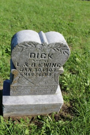 EWING, DICK - Clarke County, Iowa | DICK EWING